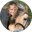 Foto van Margot Mulder op haar paard