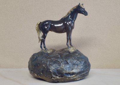 1546-Paard op hart.